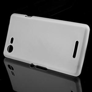 Matný gelový obal na mobil Sony Xperia E3 - transparentní - 2