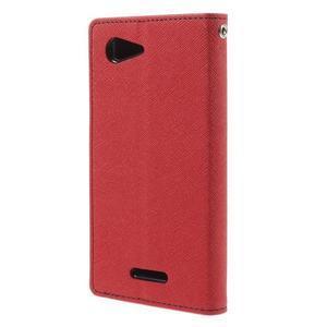 Richmercury pouzdro na mobil Sony Xperia E3 - červené - 2