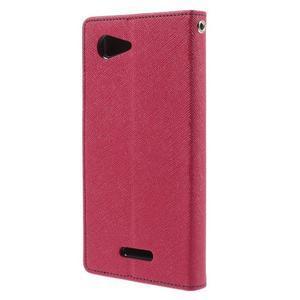 Richmercury pouzdro na mobil Sony Xperia E3 - rose - 2
