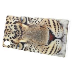 Emotive gelový obal na Sony Xperia M4 Aqua - leopard - 2
