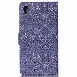 Emotive pouzdro na mobil Sony Xperia M4 Aqua - retro květy - 2/6