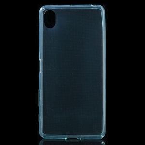 Ultratenký 0.5 mm gelový obal na Sony Xperia X - světlemodrý - 2
