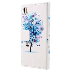 Emotive pouzdro na mobil Sony Xperia X Performance - modrý strom - 2