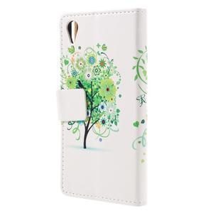 Emotive pouzdro na mobil Sony Xperia X Performance - zelený strom - 2