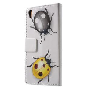 Emotive pouzdro na mobil Sony Xperia XA - broučci - 2