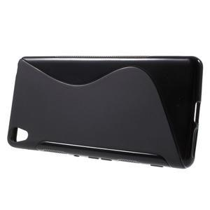 S-line gelový obal na mobil Sony Xperia XA - černý - 2