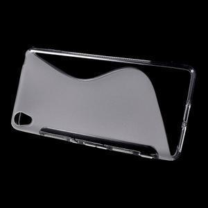 S-line gelový obal na mobil Sony Xperia XA - transparentní - 2