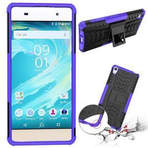 Outdoor odolný obal na mobil Sony Xperia XA - fialový - 2