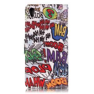 Emotive PU kožené knížkové pouzdro na Sony Xperia XA - boom - 2