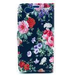 Pouzdro na mobil Sony Xperia Z1 Compact - květinová koláž - 2/5