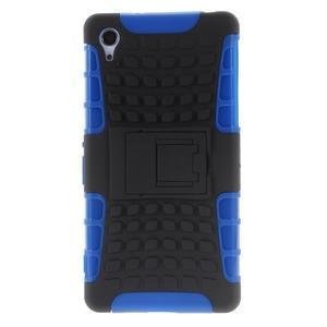Outdoor odolný kryt na mobil Sony Xperia Z2 - modrý - 2