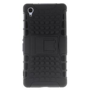 Outdoor odolný kryt na mobil Sony Xperia Z2 - černý - 2