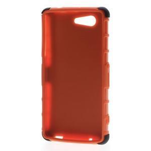 Odolný ochranný kryt na Sony Xperia Z3 Compact - oranžový - 2