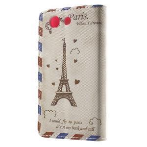 Pictu peněženkové pouzdro na Sony Xperia Z3 Compact - Eiffelova věž - 2
