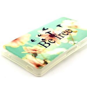 Softy gelový obal na Sony Xperia Z3 Compact - be free - 2