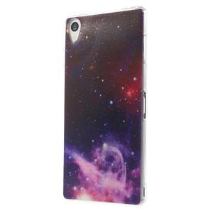 Ultratenký gelový obal na mobil Sony Xperia Z3 - galaxie - 2