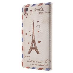 Emotive peněženkové pouzdro na Sony Xperia Z3 - Eiffelova věž - 2