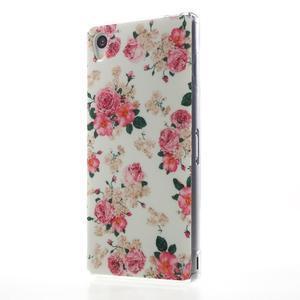 Gelový obal na mobil Sony Xperia Z3 - květiny - 2