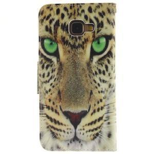 Patt peněženkové pouzdro na Samsung Galaxy A3 (2016) - leopard - 2