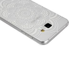 Ultratenký slim obal na mobil Samsung Galaxy A3 (2016) - bílá mandala - 2