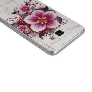 Ultratenký slim obal na mobil Samsung Galaxy A3 (2016) - kytička - 2