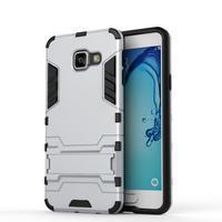 Outdoor odolný kryt na mobil Samsung Galaxy A3 (2016) - stříbrný - 2/2