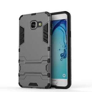 Outdoor odolný kryt na mobil Samsung Galaxy A3 (2016) - šedý - 2