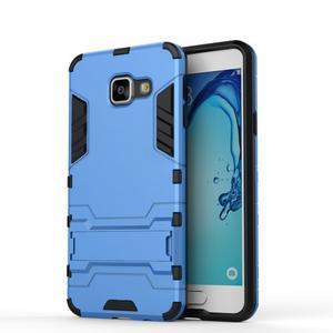 Outdoor odolný kryt na mobil Samsung Galaxy A3 (2016) - světlemodrý - 2