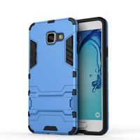 Outdoor odolný kryt na mobil Samsung Galaxy A3 (2016) - světlemodrý - 2/2