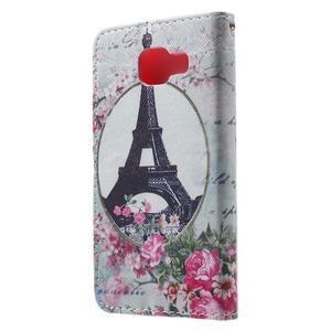 Fun peněženkové pouzdro na Samsung Galaxy A3 (2016) - Eiffelova věž - 2