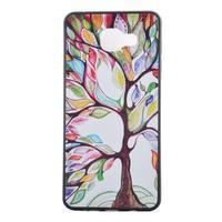 Terry gelový obal na Samsung Galaxy A3 (2016) - malovaný strom - 2/6