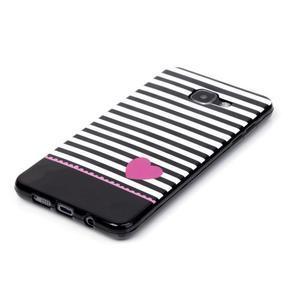Style gelový obal na mobil Samsung Galaxy A3 (2016) - srdíčko - 2
