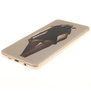 Silk gelový kryt na mobil Samsung Galaxy A3 (2016) - sexy girl - 2