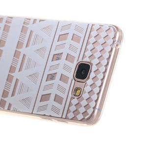 Miffs ultratenký gelový obal na Samsung Galaxy A3 (2016) - geo tvary - 2