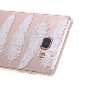 Miffs ultratenký gelový obal na Samsung Galaxy A3 (2016) - peříčka - 2