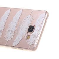 Miffs ultratenký gelový obal na Samsung Galaxy A3 (2016) - peříčka - 2/4