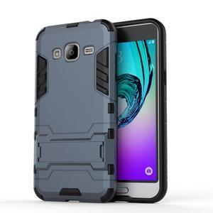 Outdoor odolný obal na Samsung Galaxy J3  (2016) - tmavěmodré - 2
