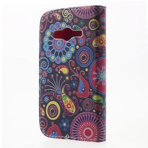 Peněženkové pouzdro na Samsung Galaxy Trend 2 Lite - barevné kruhy - 2