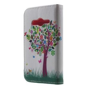 Motive pouzdro na mobil Samsung Galaxy Trend 2 Lite - strom s motýlky - 2