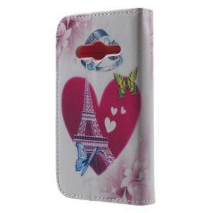 Motive pouzdro na mobil Samsung Galaxy Trend 2 Lite - Eiffelova věž - 2