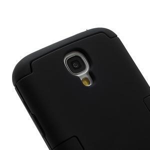 Extreme odolný gelový obal 2v1 na Samsung Galaxy S4 - černý - 2