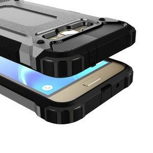 Armory odolný obal na mobil Samsung Galaxy J1 (2016) - šedý - 2