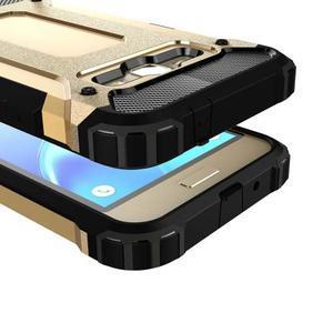 Armory odolný obal na mobil Samsung Galaxy J1 (2016) - zlatý - 2