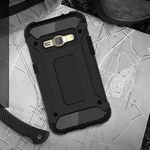 Armory odolný obal na mobil Samsung Galaxy J1 (2016) - černý - 2