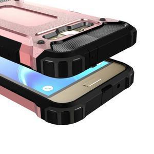Armory odolný obal na mobil Samsung Galaxy J1 (2016) - růžovozlatý - 2