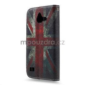 Stylové pouzdro na mobil Huawei Ascend Y550 - UK vlajka - 2