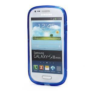 Modré gelové pouzdro pro Samsung Galaxy S3 mini /i8190 - 2