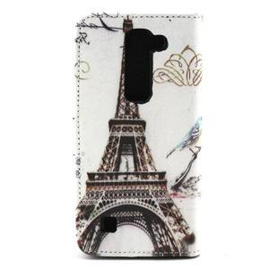 Peneženkové pouzdro na mobil LG G4c - Eiffelova věž - 2
