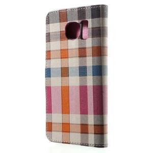 Módní stylové pouzdri na Samsung Galaxy S6 - rose - 2