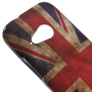 Gelový kryt na HTC One mini 2 - UK vlajka - 2